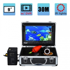 Eyoyo Underwater Fishing Camera 9 inch LCD Monitor 1000TVL Waterproof DVR Video Cam (Infrared Lights 30m cable)