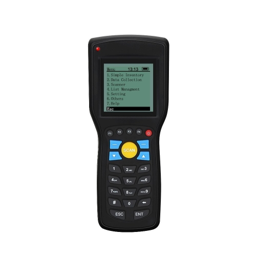 Eyoyo Portable PDA T5 Wireles and Wired Barcode Scanner Data Inventory Device Collector Terminal 1D Bar Code Reader